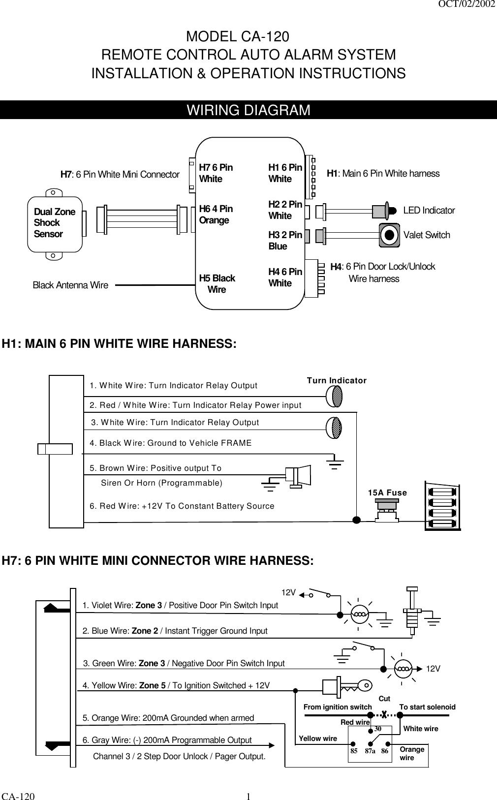 Code Systems PAN06 Car Alarm Receiver User ManualUserManual.wiki