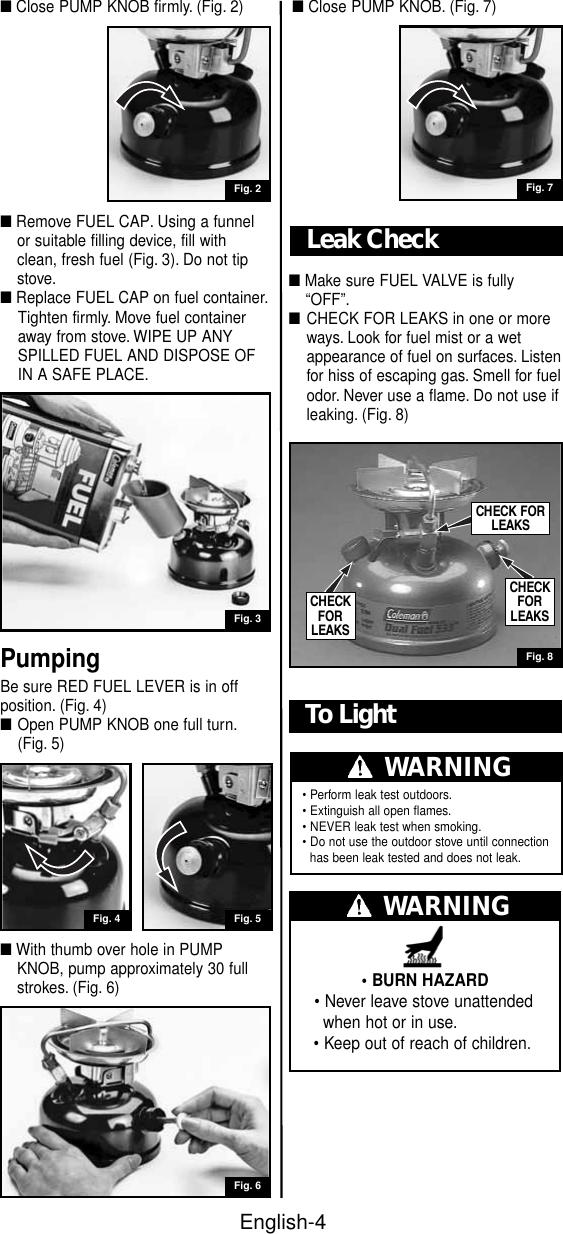 Coleman Lantern Leaks Fuel