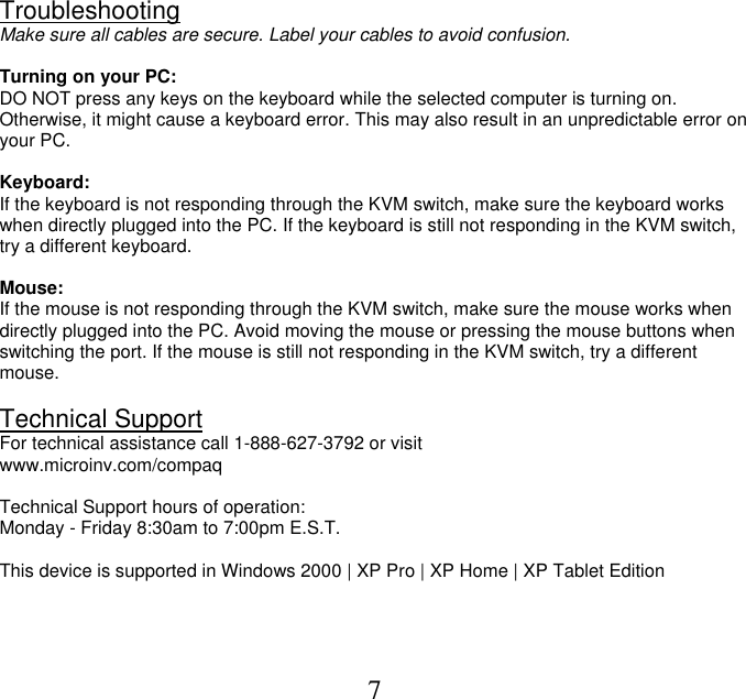 Compaq keyboard manual array compaq cpq10kvm users manual cpq06epc rh usermanual wiki fandeluxe Choice Image
