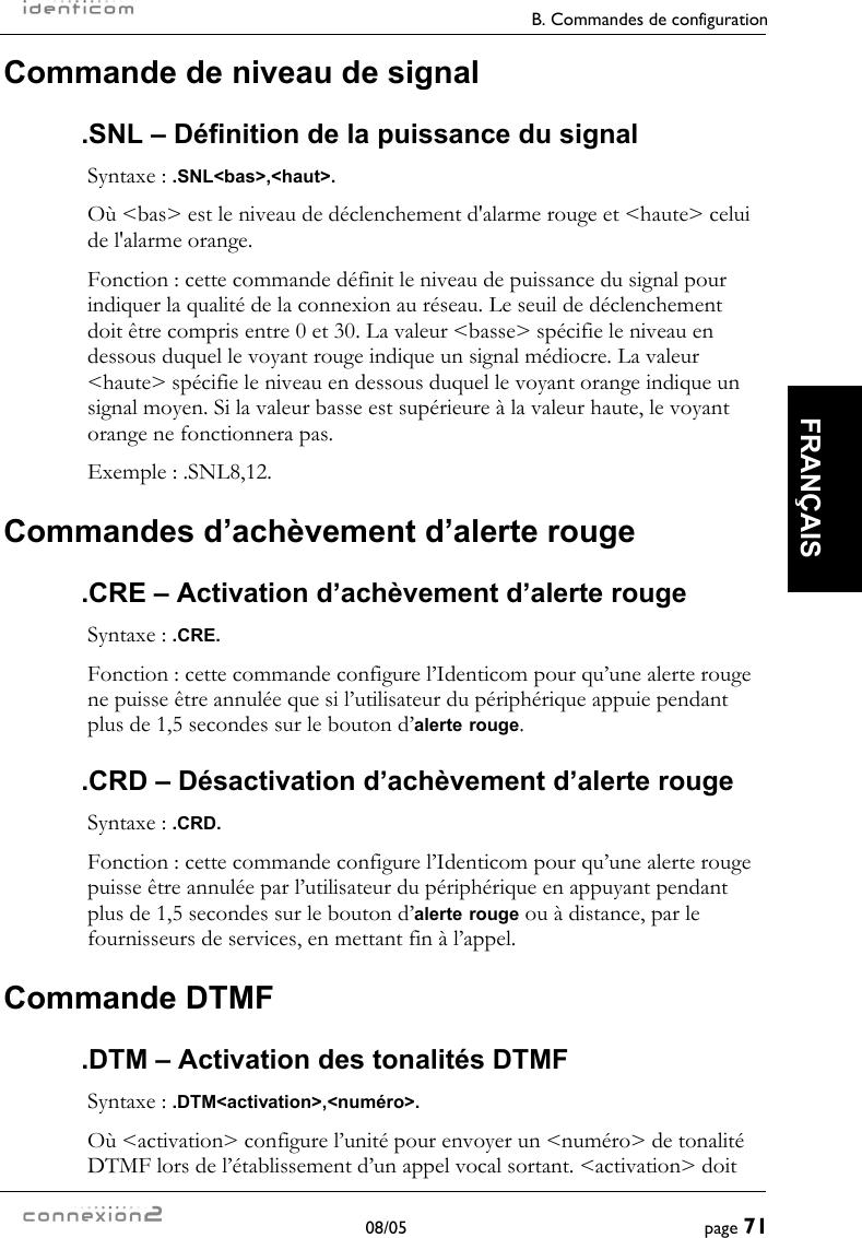 activation definition francaise