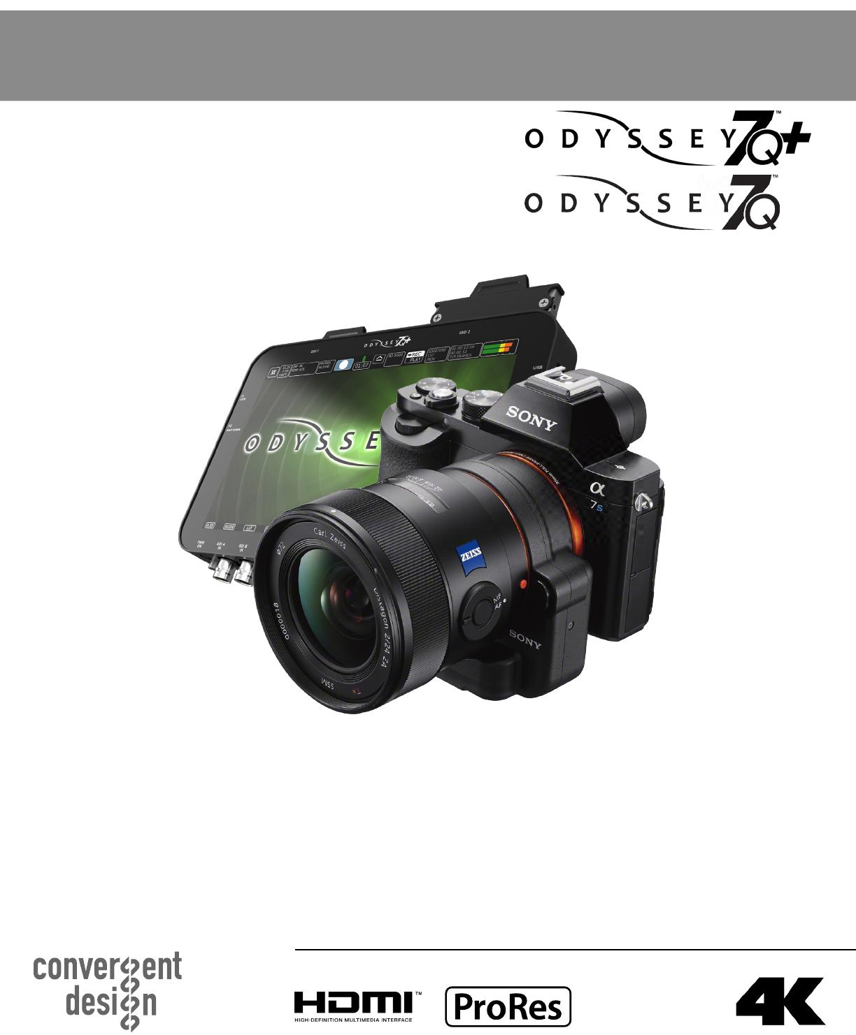 Odyssey Sony A7S Setup Guide 2015 8