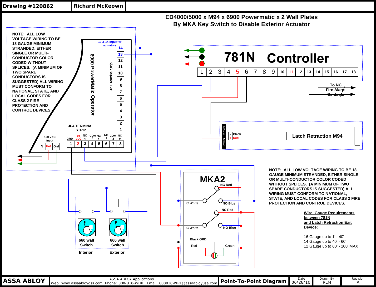 Corbin Russwin Visio Set Ed4000  5000 X M94 6900 Powermatic