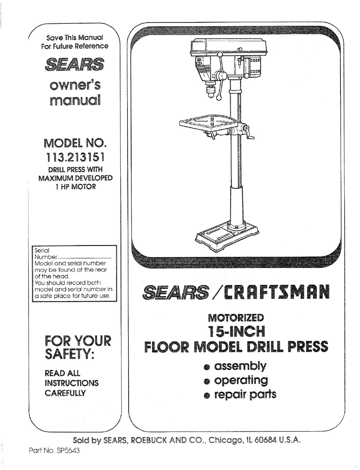 Drill Press Wiring Diagram - Wiring Diagram General