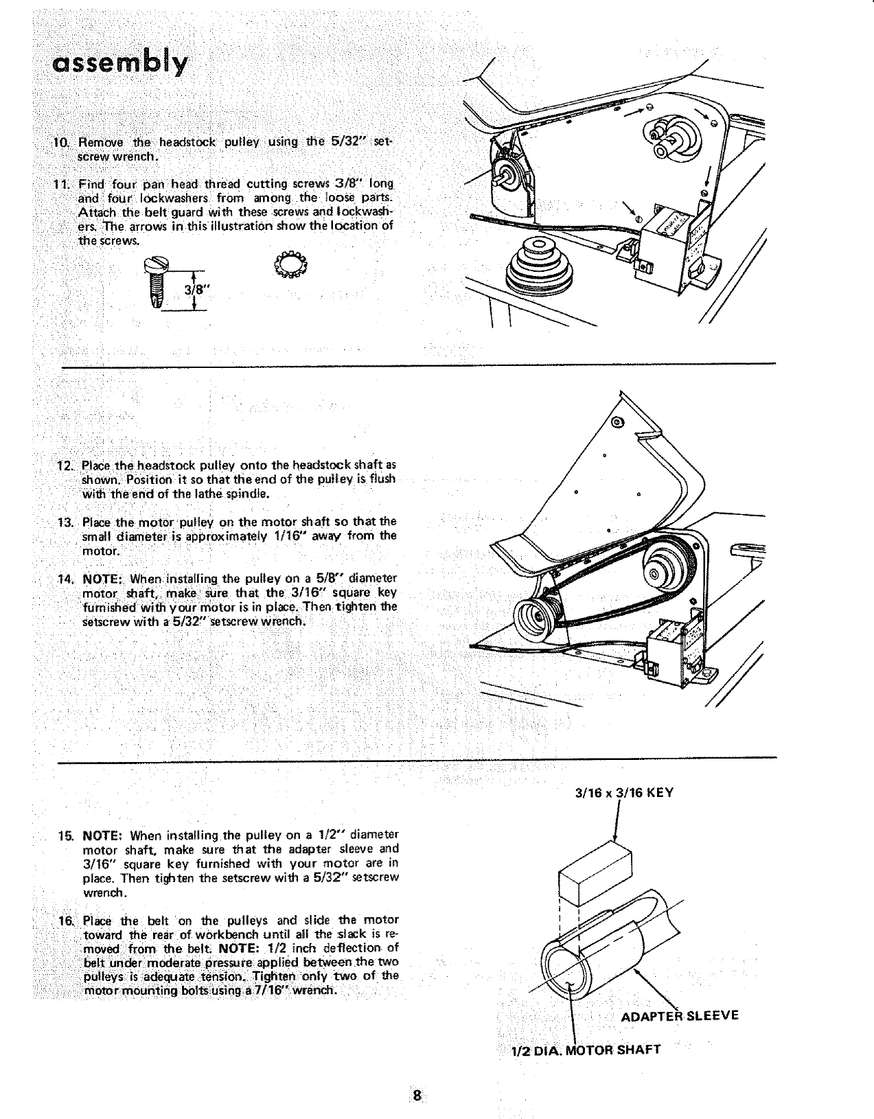 Craftsman 113228000 User Manual 12 WOOD TURNING LATHE Manuals And