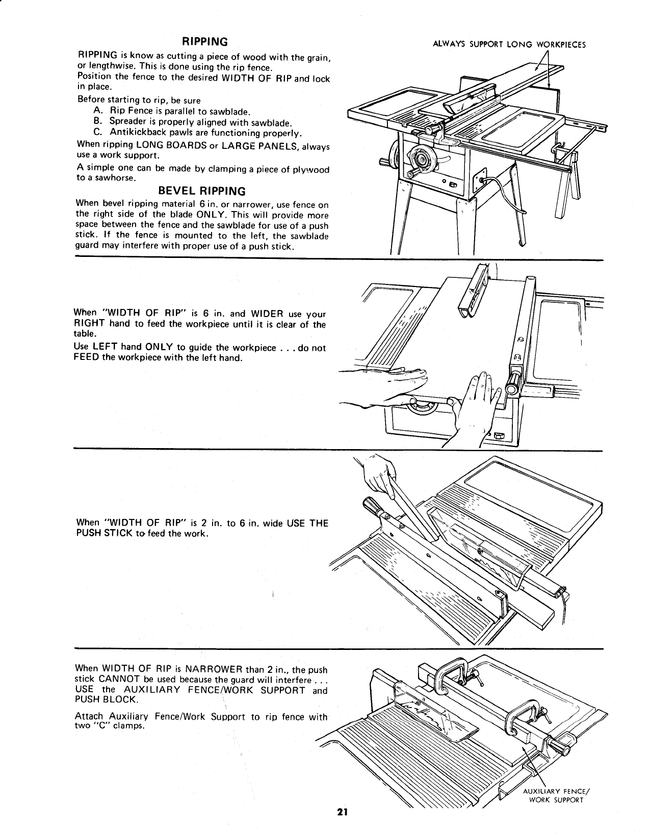 Craftsman 113298050 User Manual 10 INCH MOTORIZED SAW ... on