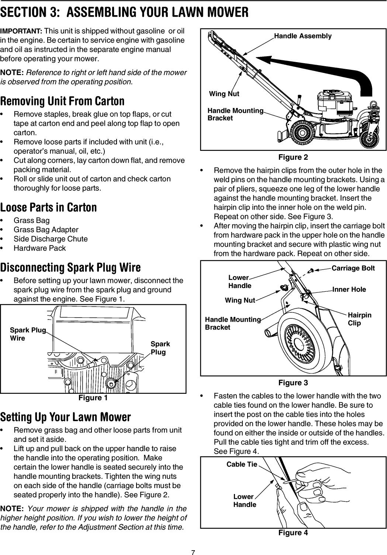 Craftsman 247375770 User Manual SELF PROPELLED MOWER Manuals