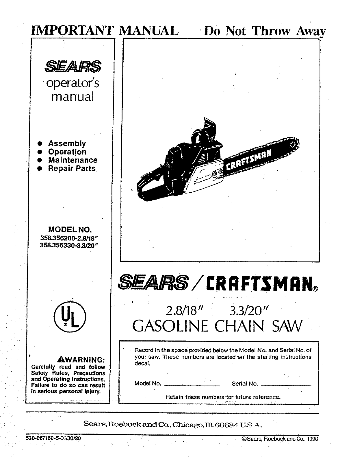 craftsman chainsaw repair manual rh craftsman chainsaw repair manual tempower us