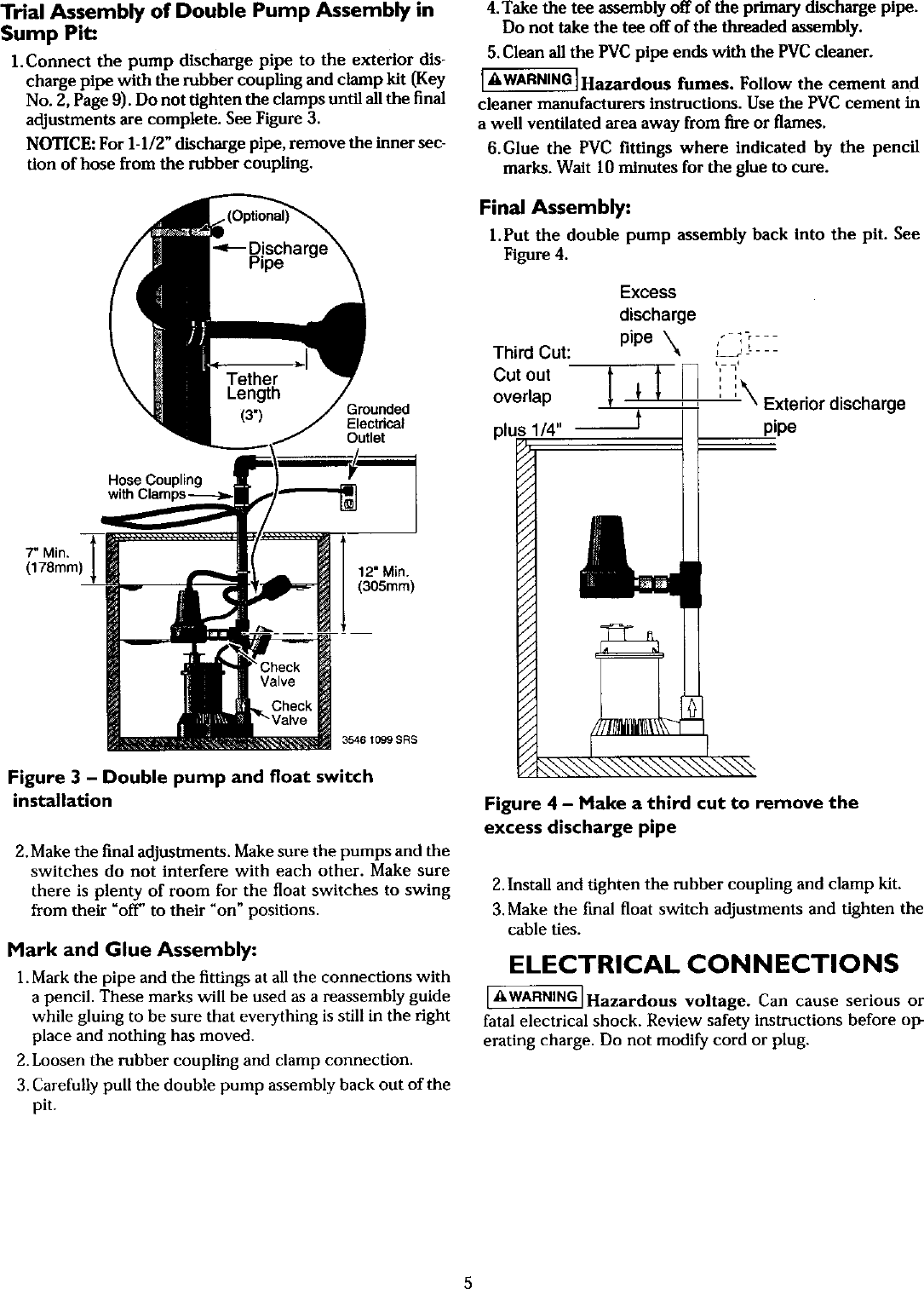 Craftsman 390307060 user manual backup sump pump manuals and page 5 of craftsman 390307060 user manual backup sump pump manuals and guides l0408275 sciox Gallery