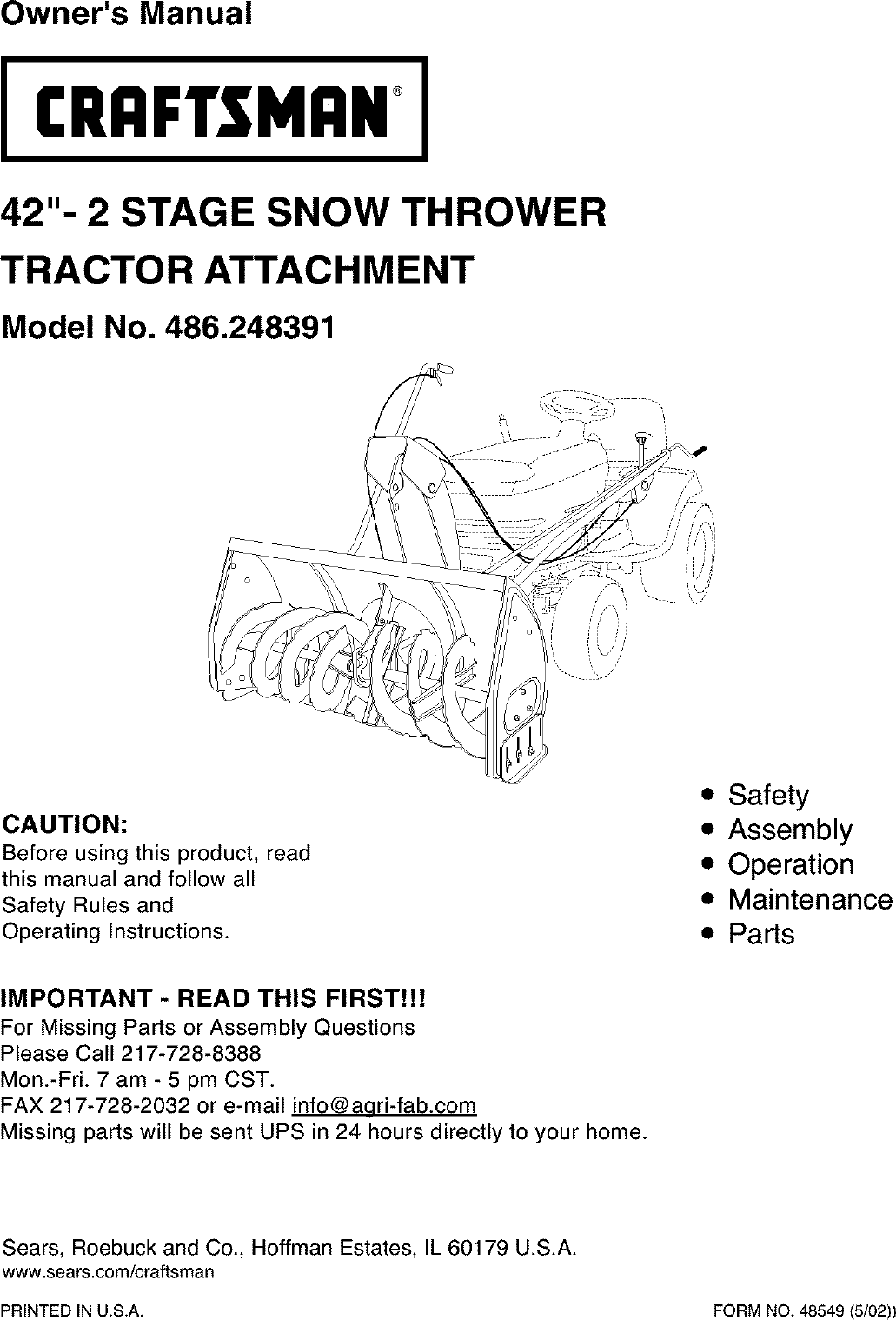 Craftsman snowblower attachment user manuals user manuals array craftsman 486248391 user manual snow thrower attachment manuals and rh usermanual wiki fandeluxe Image collections
