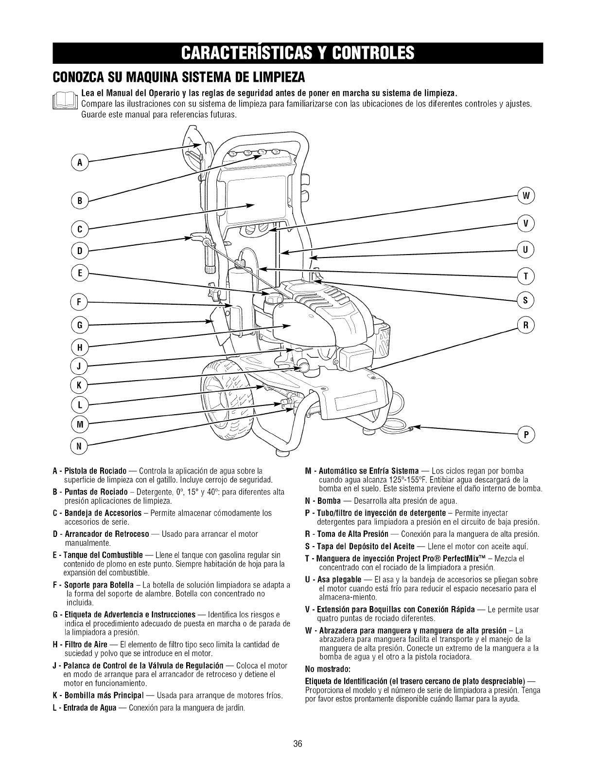 Craftsman 580752620 User Manual Pressure Washer Manuals And Guides 36si Wiring Diagram Conozcasu Maquinasistemadelimpieza Leael
