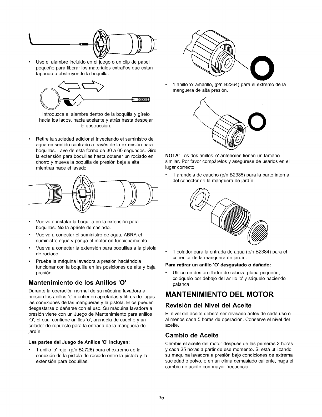 Craftsman 580768311 User Manual Pressure Washer Manuals And Guides Ring Flat Baja M8 Use