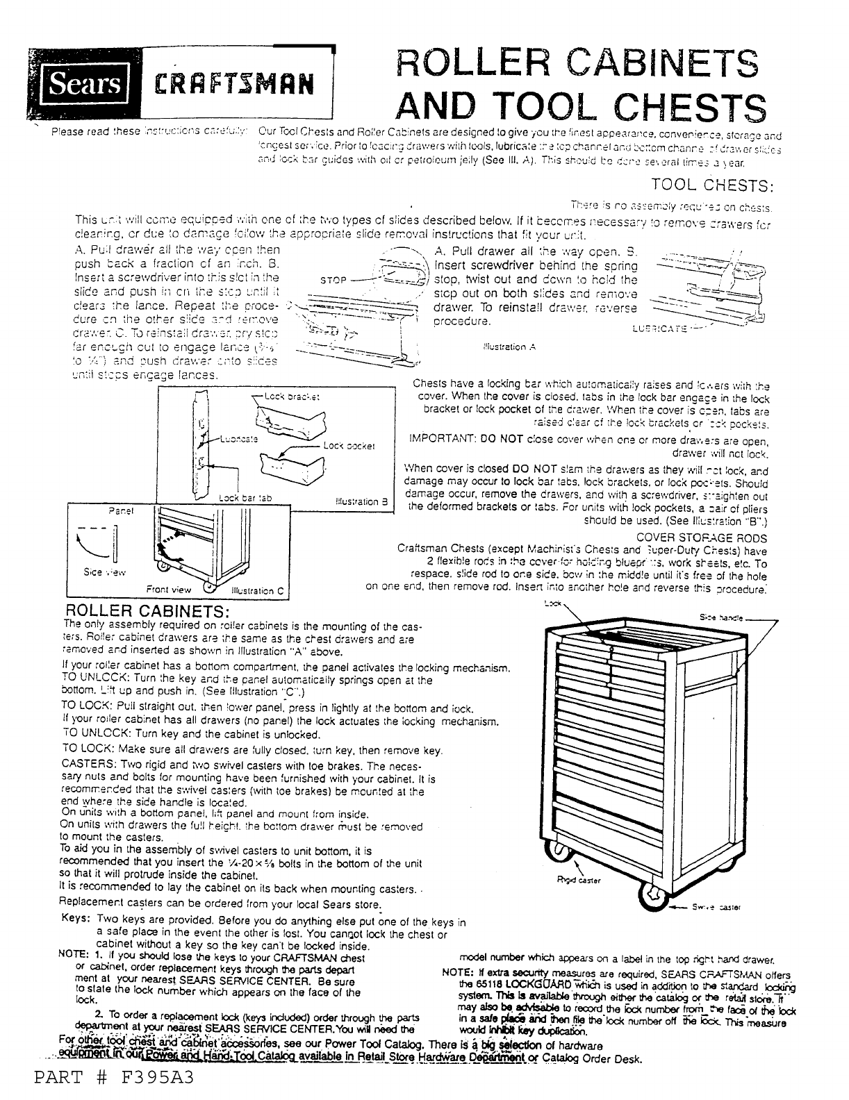 Assembly View For Cabinet Manual Guide