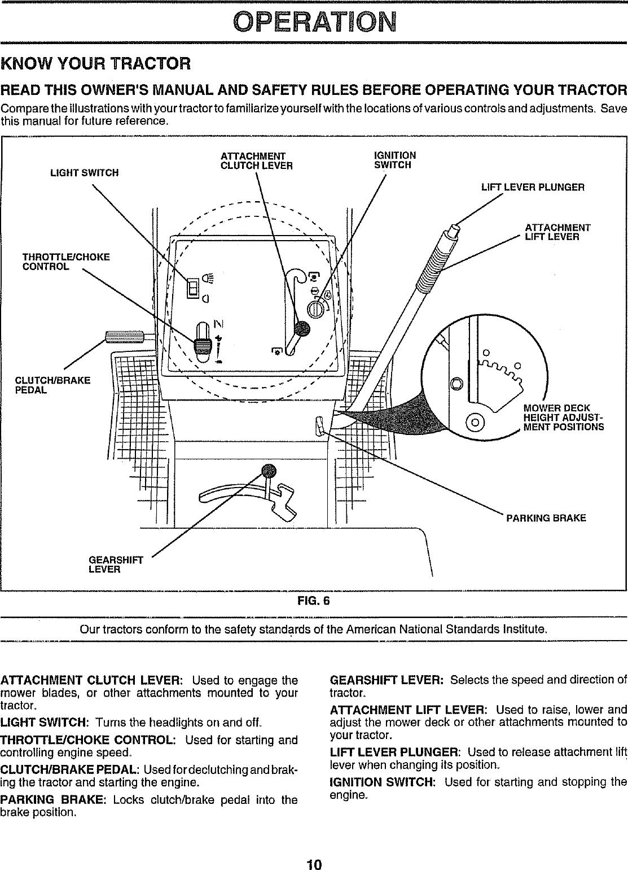 917 252451 Sears Tractor Wiring Diagram    Wiring Diagram