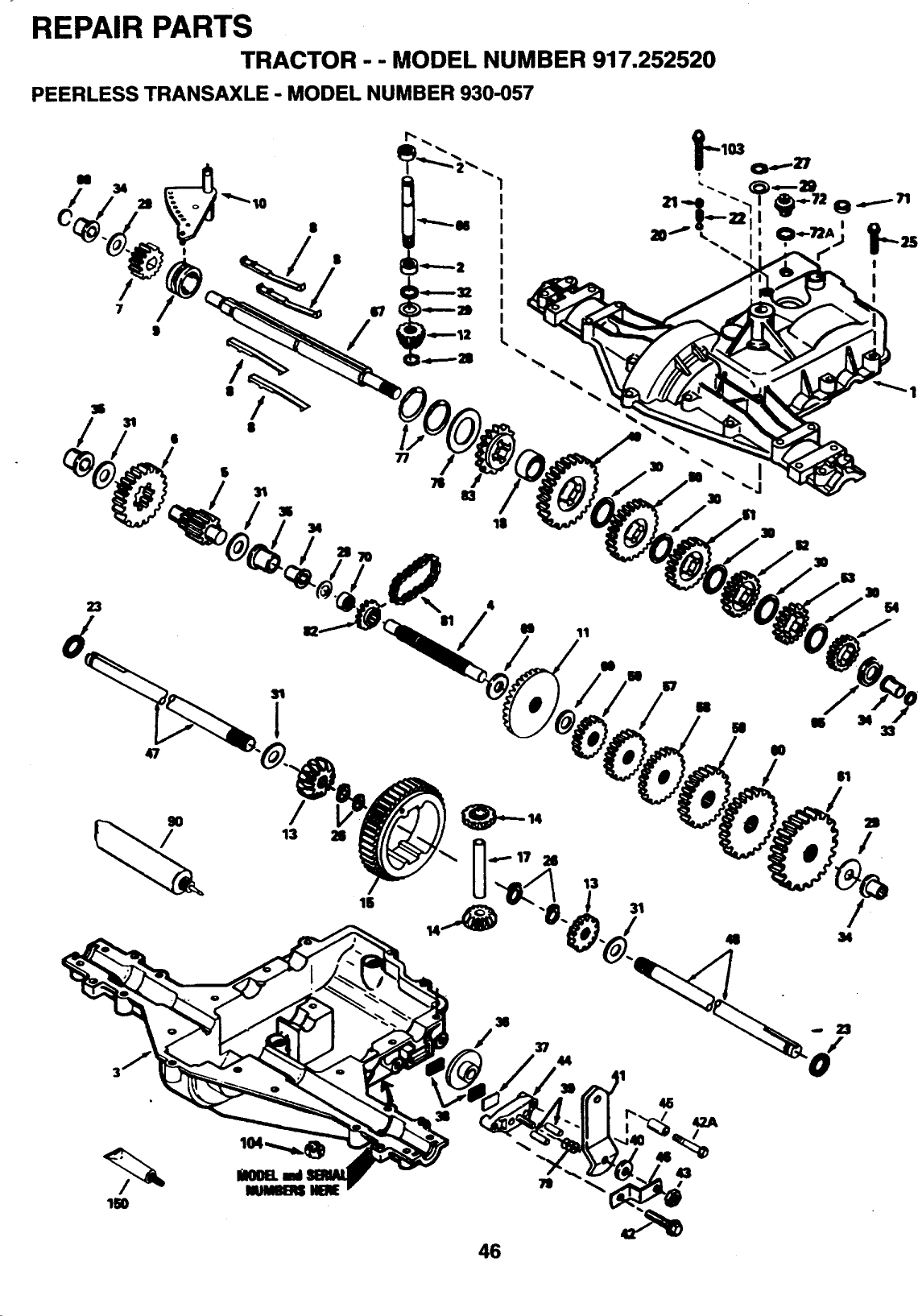 Craftsman 917252520 User Manual LAWN TRACTORS Manuals And