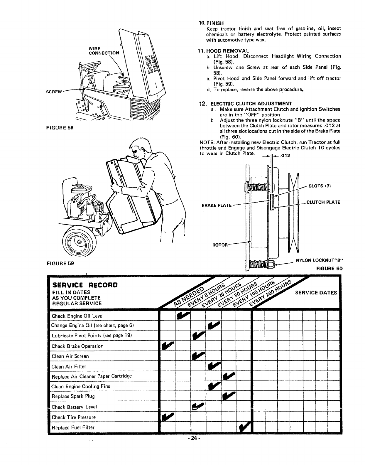 Craftsman 917255915 User Manual 6 Speed Garden Tractor Manuals And The Distance Between Connection Of Discharge Side Ammeter Guides L1003361