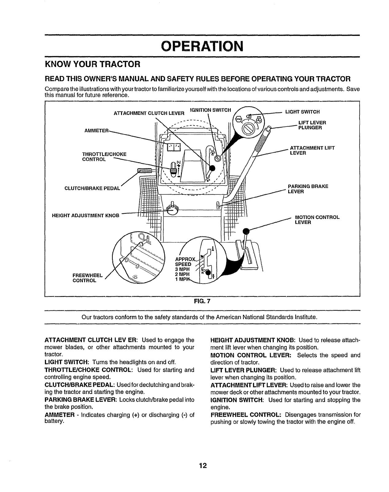 Kohler Courage 20 Throttle Linkage Diagram