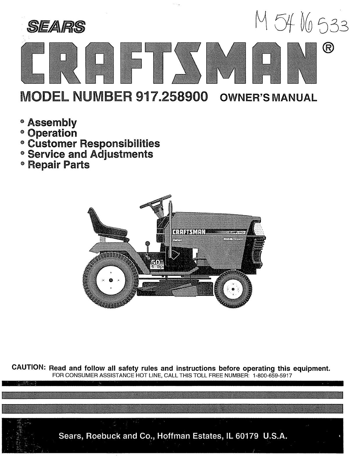 Sears Lawn Tractor Wiring Diagram Sample Manual Guide