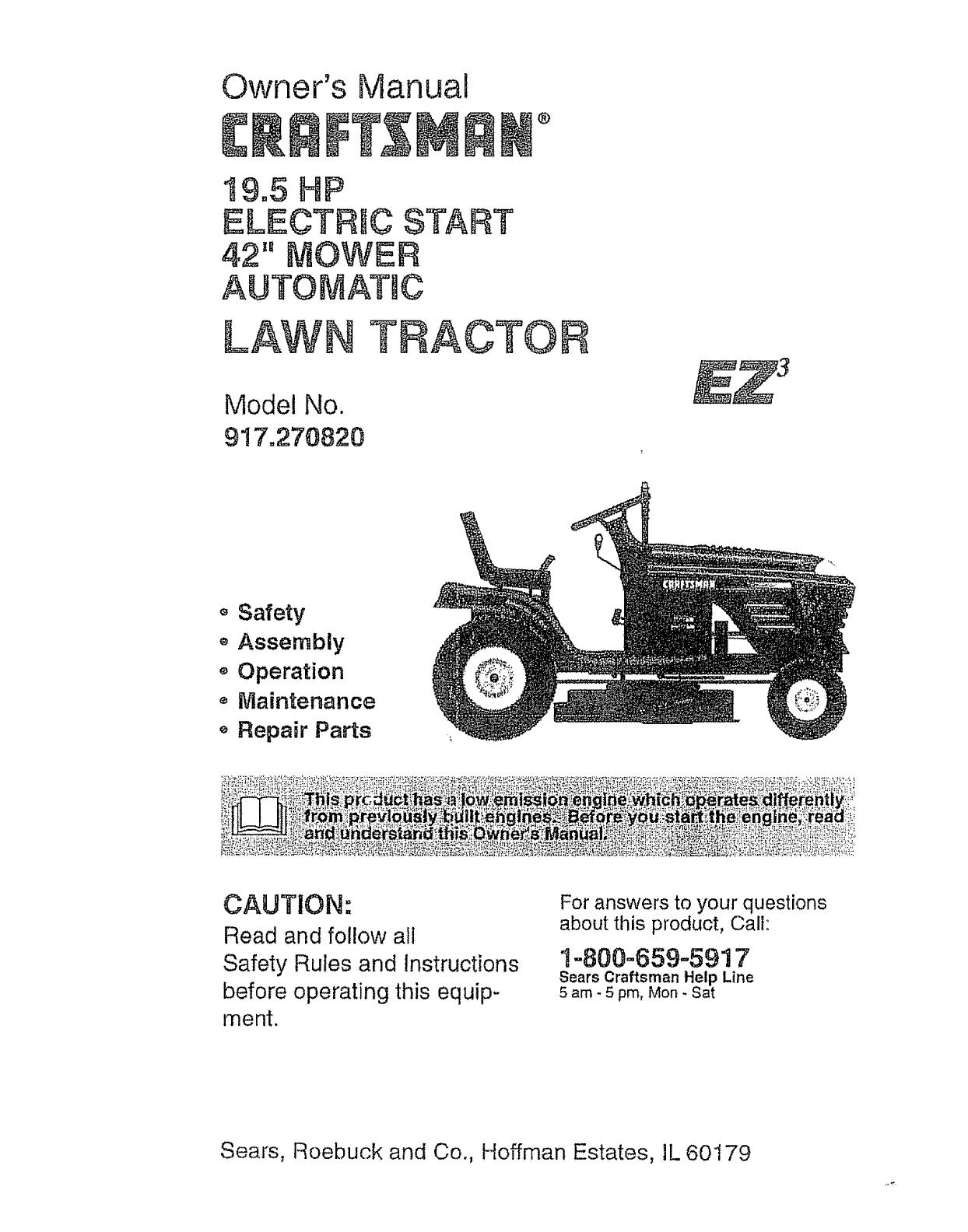 Craftsman Mower Parts Diagram Craftsman Lawn Mower Parts