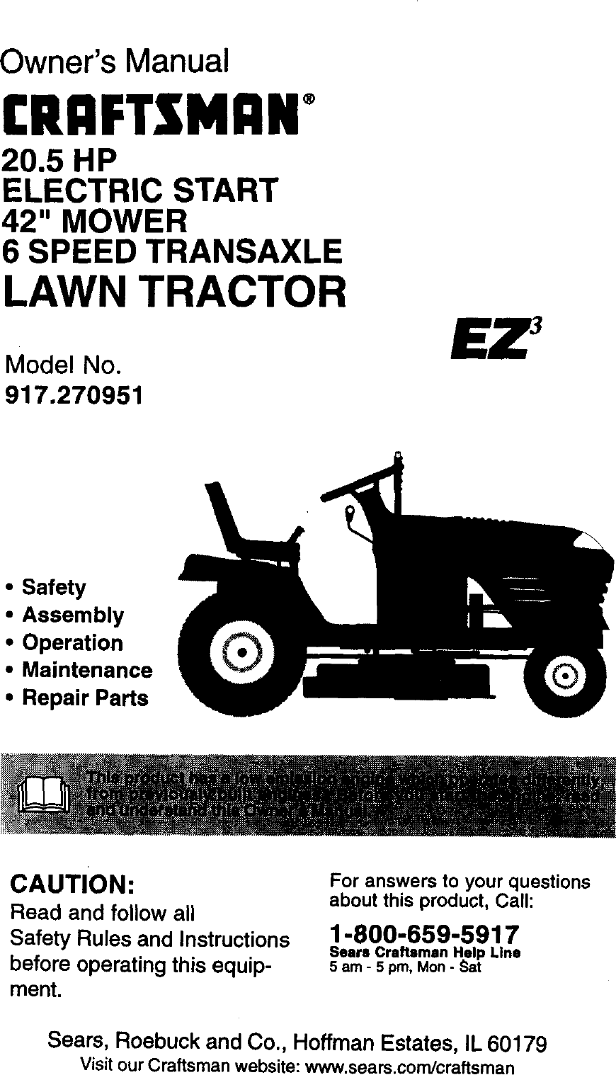 Craftsman 917270951 User Manual 205hp 42 Mower Lawn Tractor Manuals Briggs Stratton Engine Carburetor Air Cleaner Parts Model 460707 And Guides L0020130