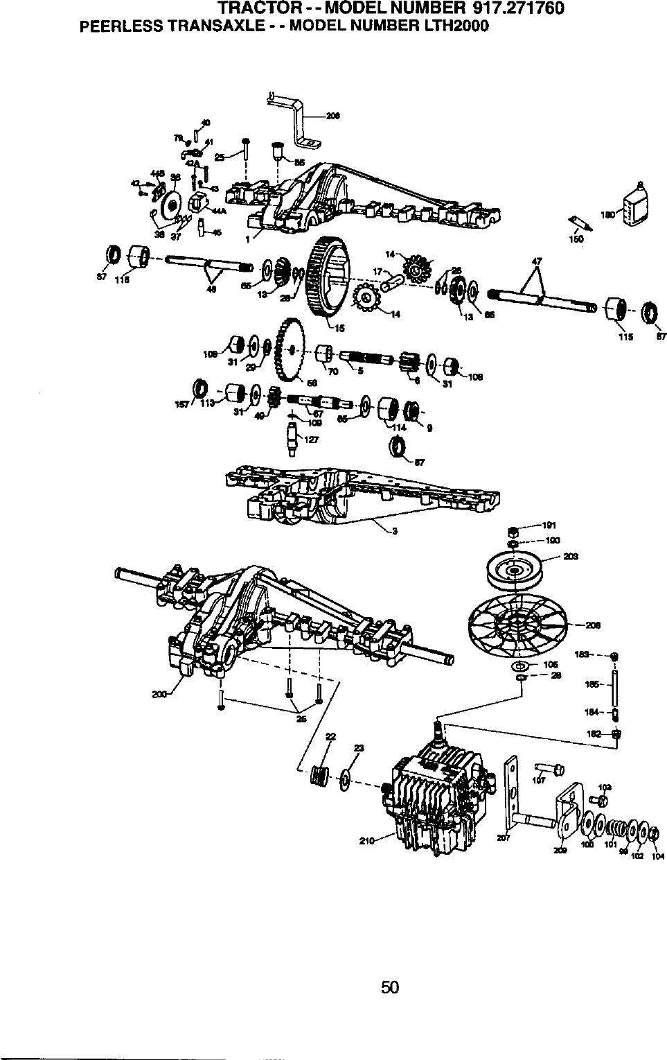 Peerless Transmission Parts Diagram | Wiring Diagram