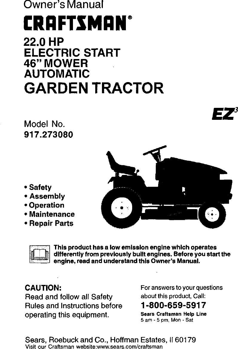 Belts Patio, Lawn & Garden Craftsman 24103 Primary Drive Belt ...