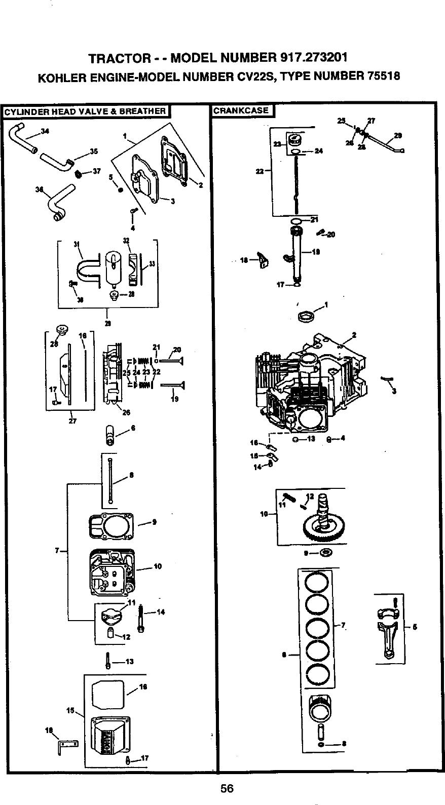 Kohler Engine Schematic Diagrams Breather Hose  Small Engine