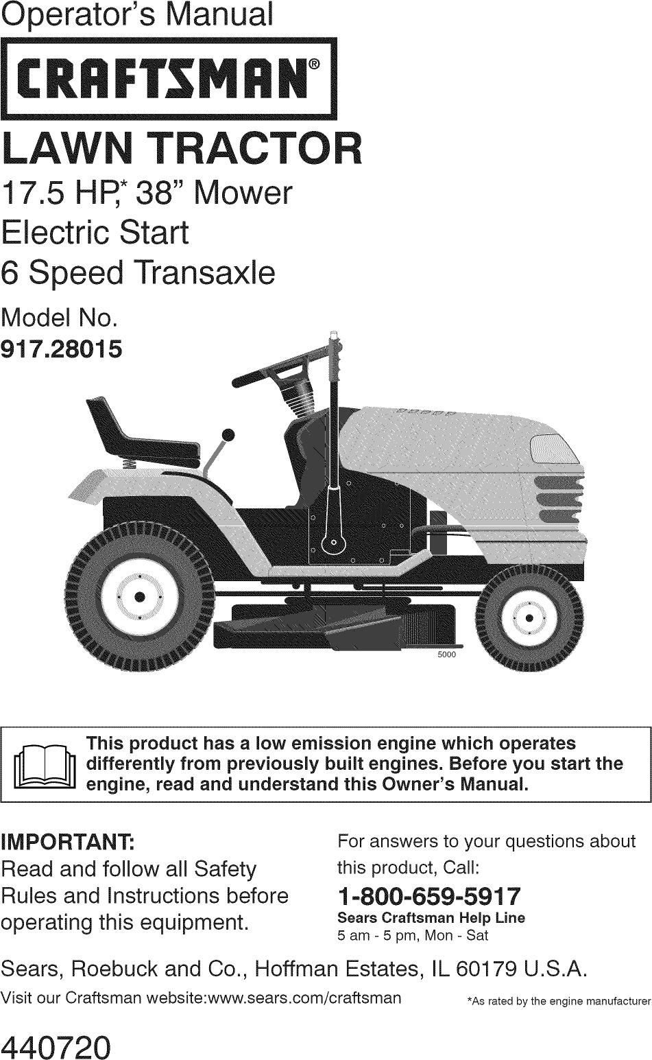 Lawn Tractors Manual Guide