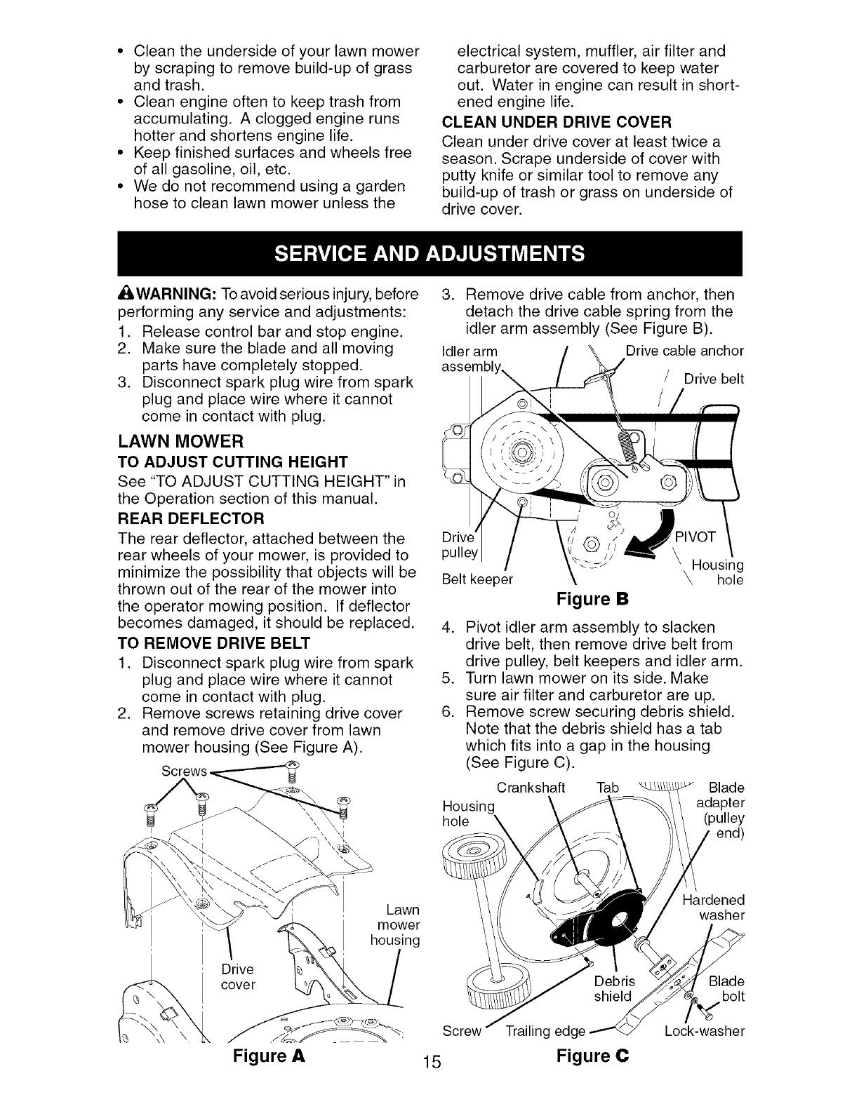 Craftsman 917377941 User Manual ROTARY MOWER Manuals And