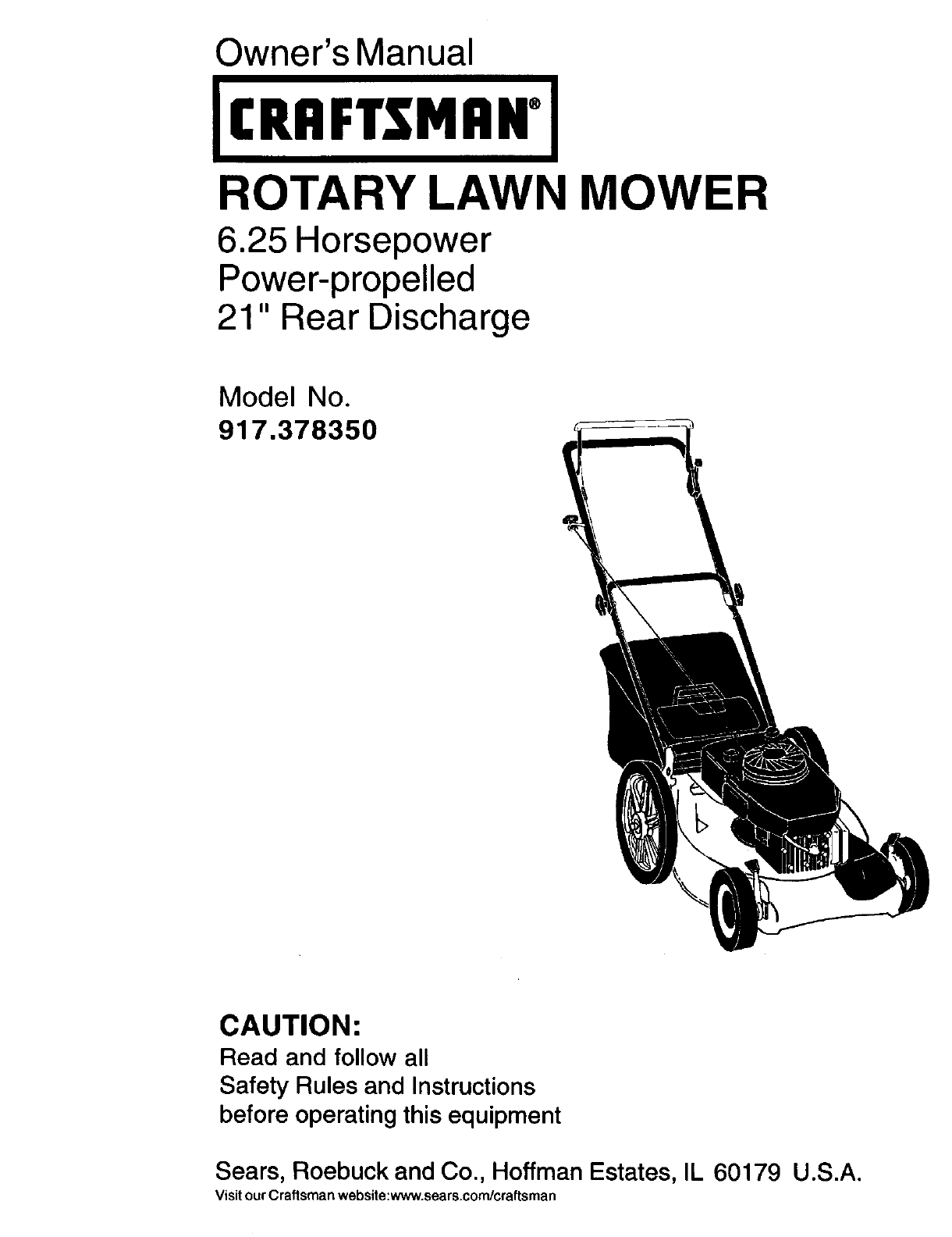 Best Craftsman Lawn Mower Model 247 Manual Image Collection 917 Wiring Diagram 917378350 User Rotary Manuals And Guides Rh Usermanual Wiki Riding