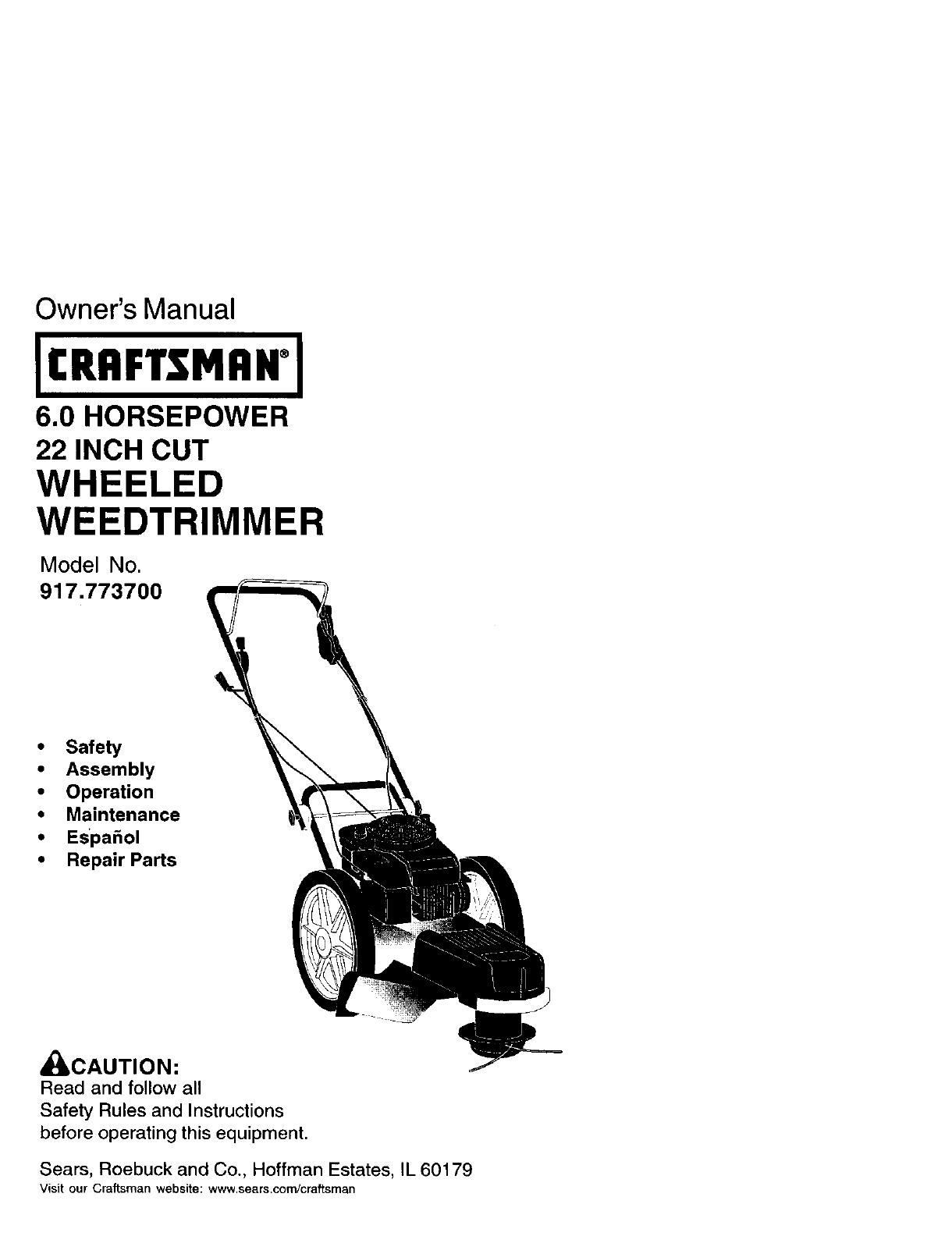 35 Craftsman String Trimmer Parts Diagram