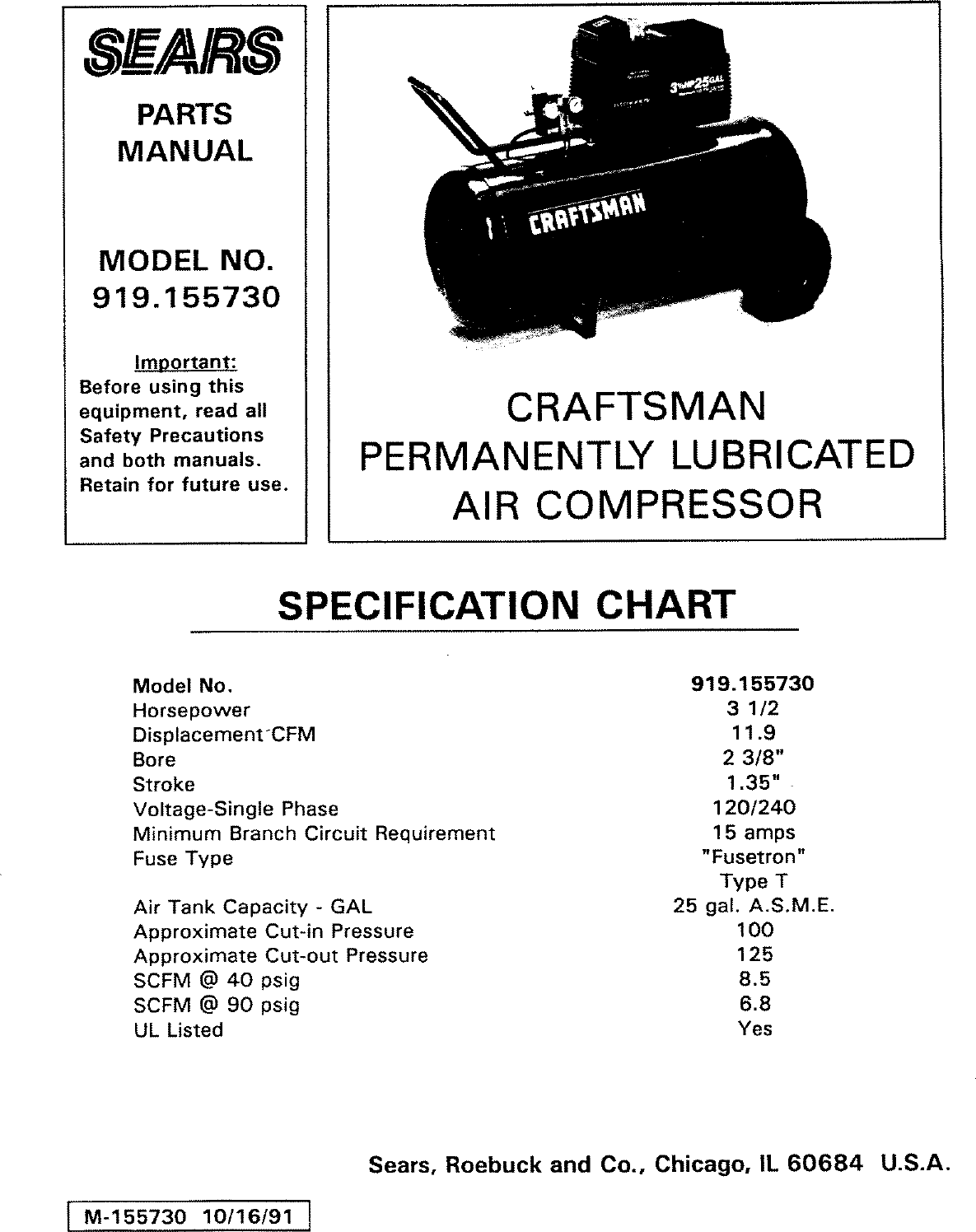 craftsman 919155730 user manual air compressor manuals and guides rh usermanual wiki Pcoket Guide Blip Scale User's Guide