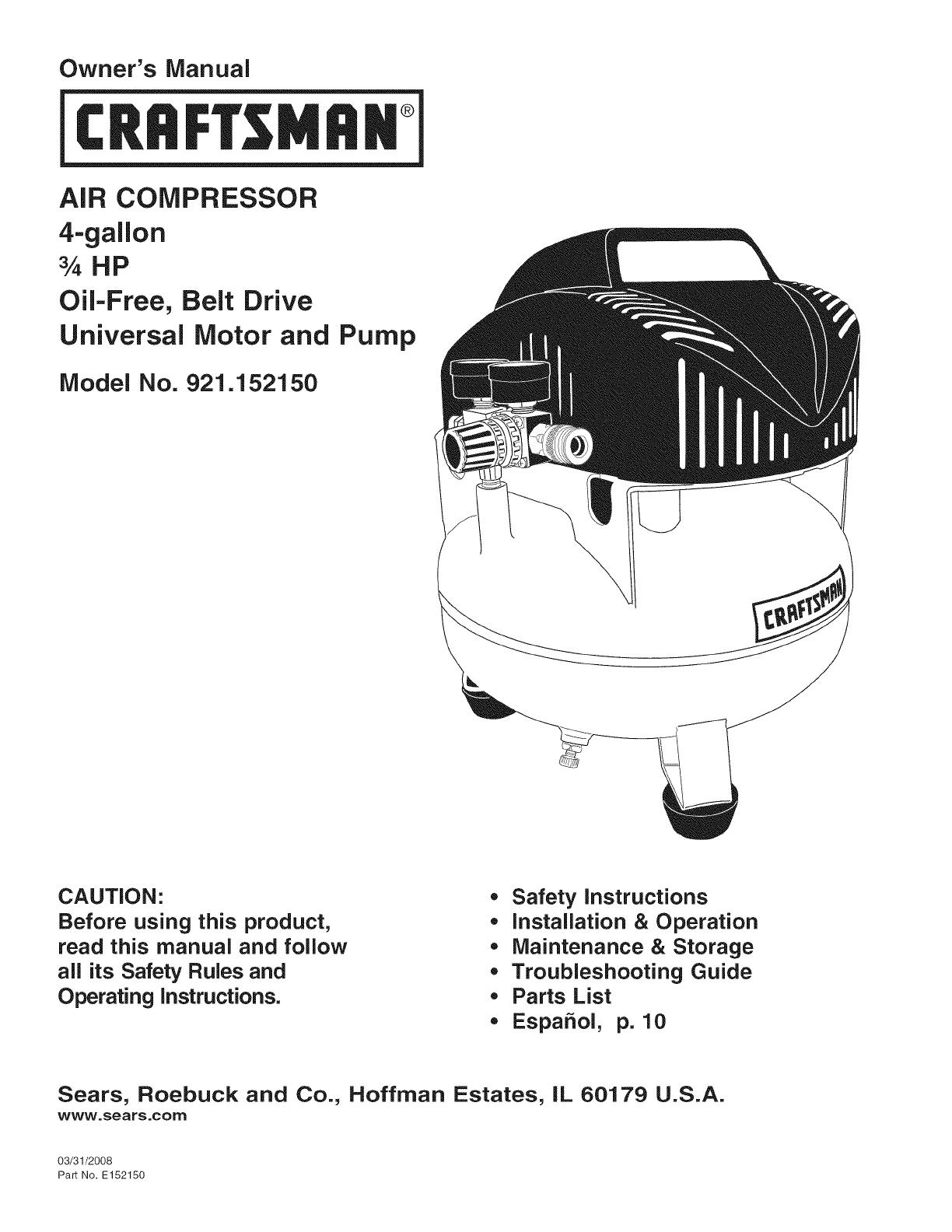 Husky 4 Gallon Air Compressor Manual England Manual Guide