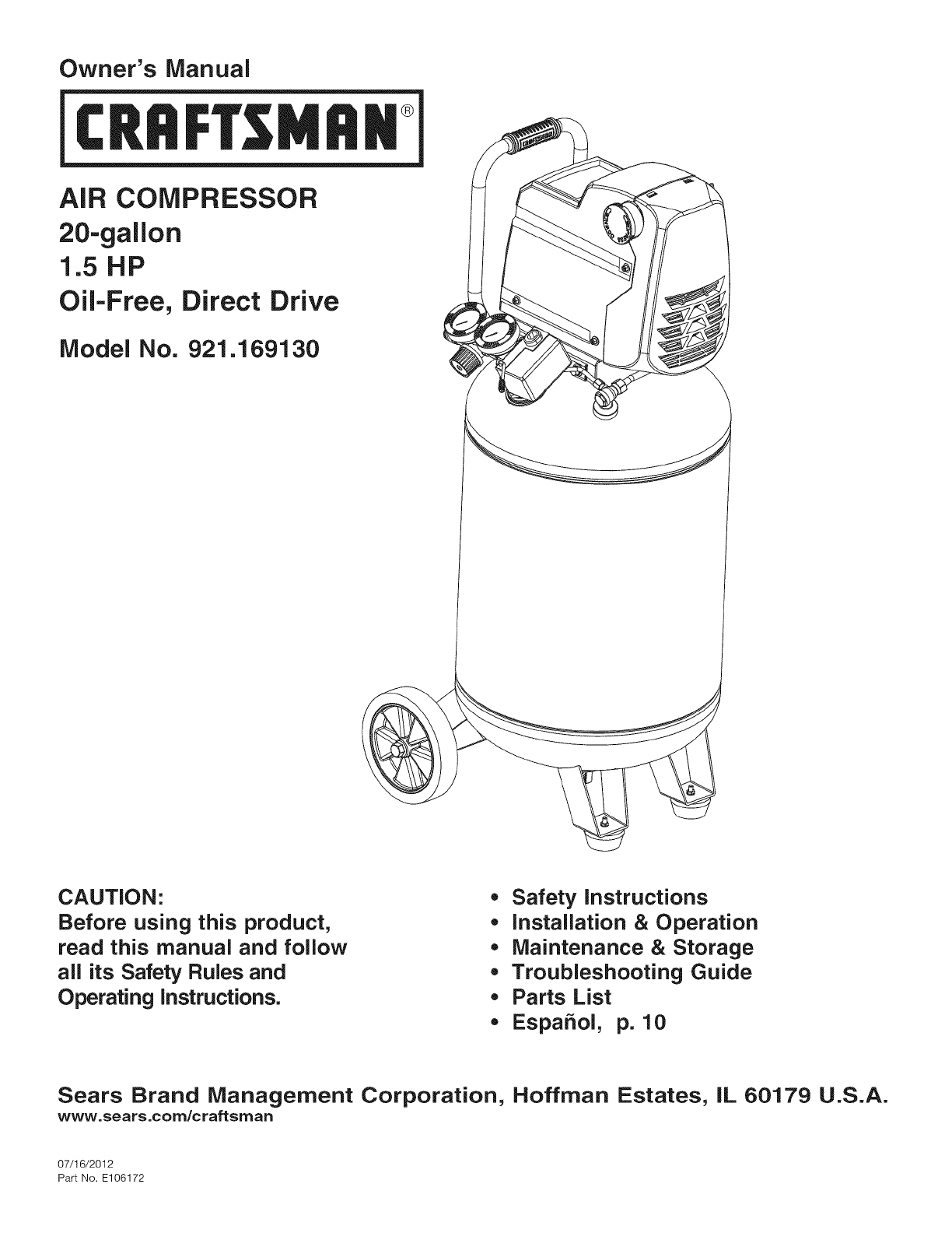 Bandsaw Parts List And Manual For Craftsman 10 U0026quot Direct Manual Guide