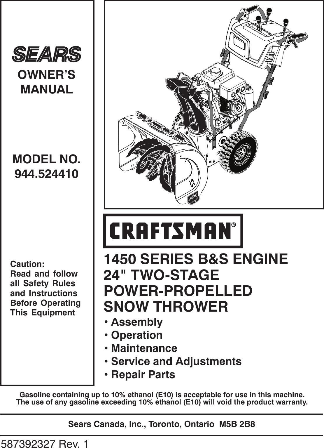 Craftsman Manual Ebook 19851995 Yamaha Moto4 200 225 250 350 Service Repair Array Sears Router Manuals Rh Banderol Us