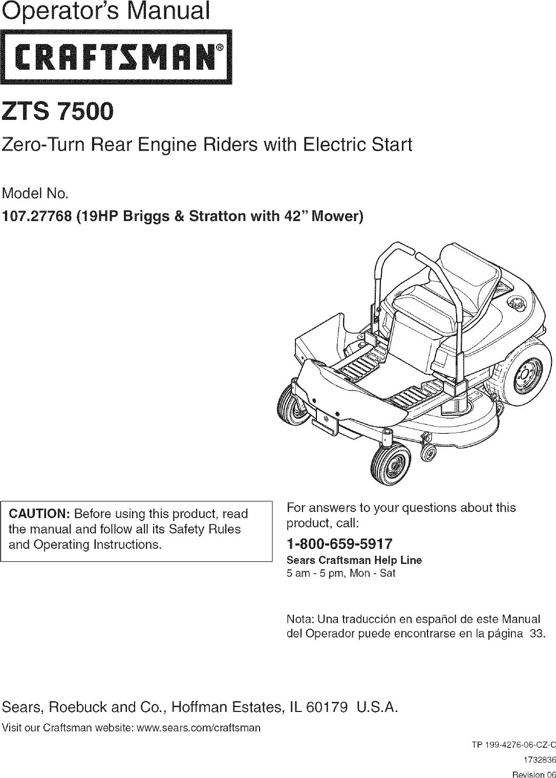 Briggs And Stratton 092908 Manual Guide