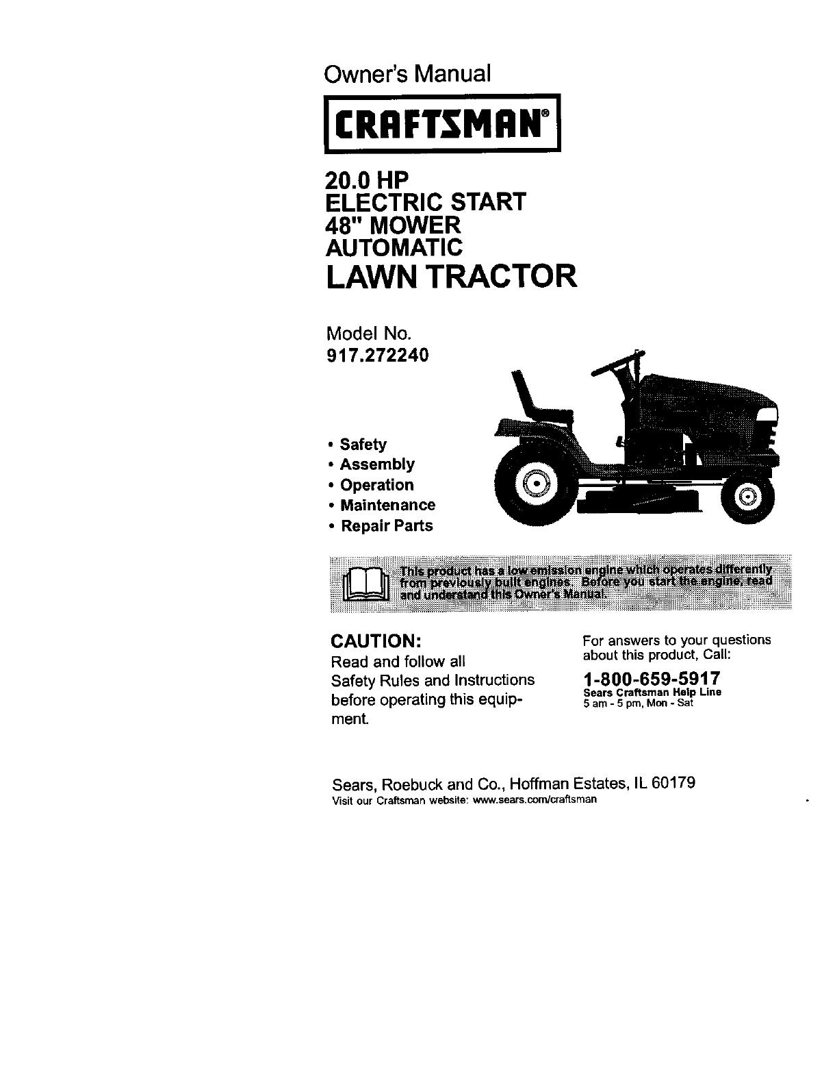 Imgenes De Craftsman Lawn Tractor 917 Owners Manual Wiring Diagram 273761 L0103110
