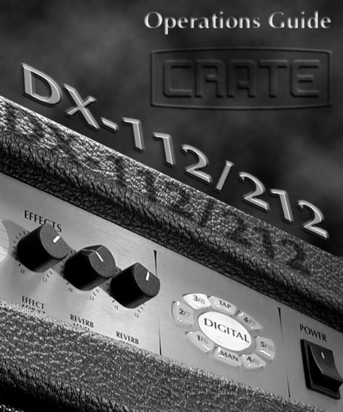 Crate Amplifiers Dx 112 Users Manual Dx112 And Dx212 Operator Fender Bassman 5f6 Tweed Guitar Effect Schematic Diagram