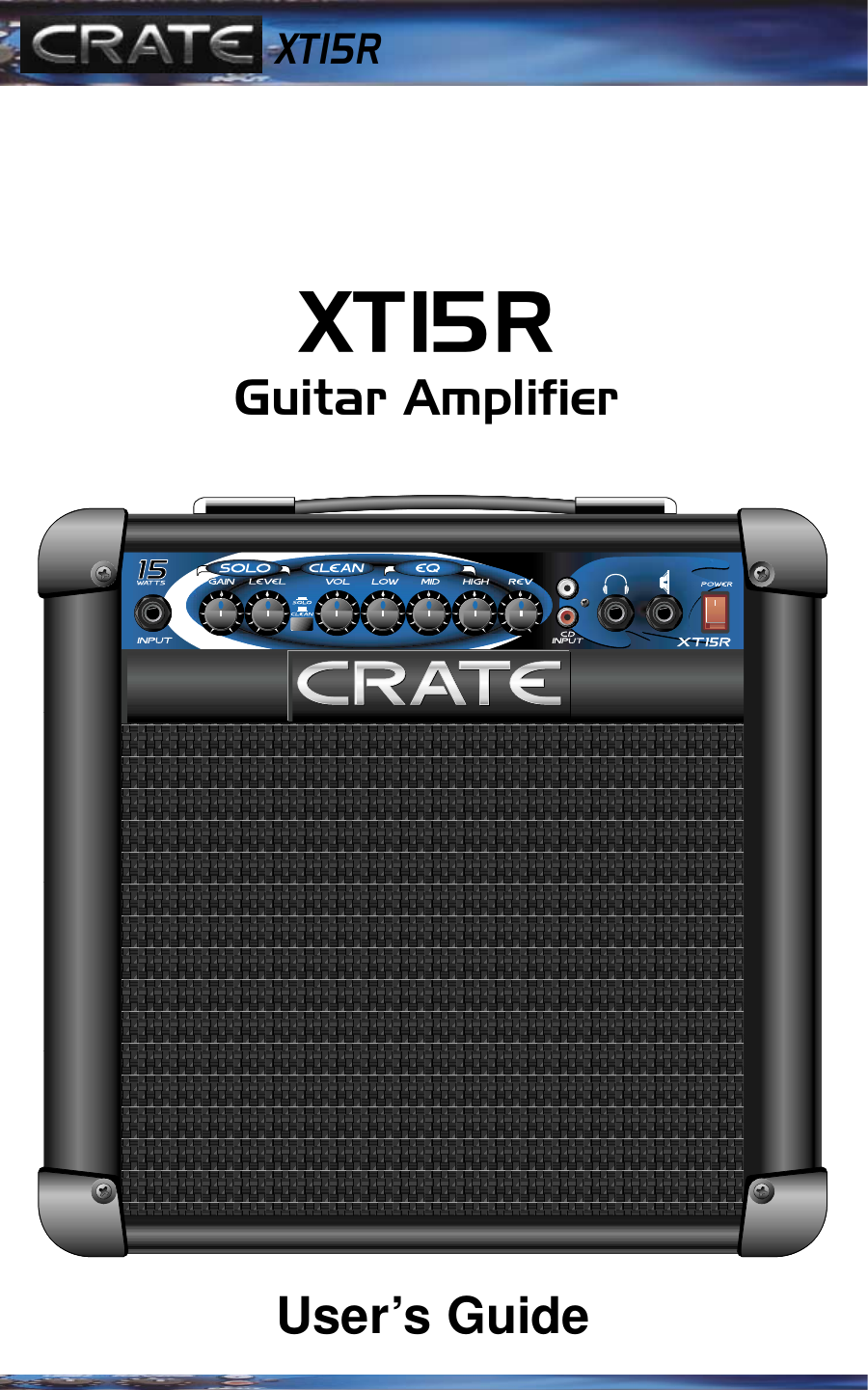 crate amplifiers xt15r users manual rh usermanual wiki Tour Guide Audio Systems Audio Tour Guide