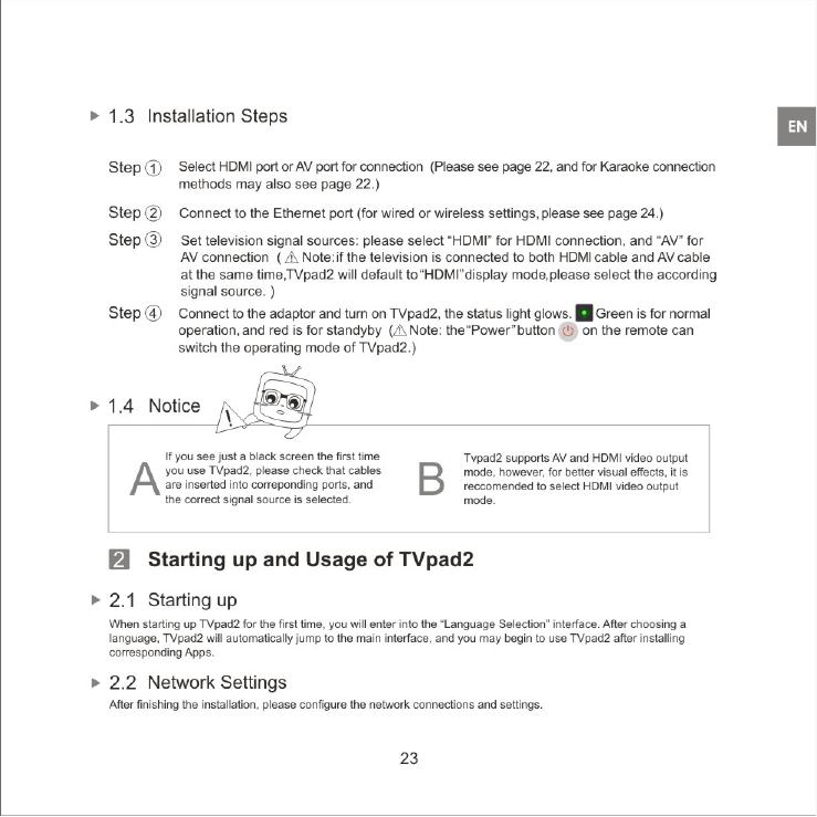Create New Technology GC452768 Tvpad User Manual 03