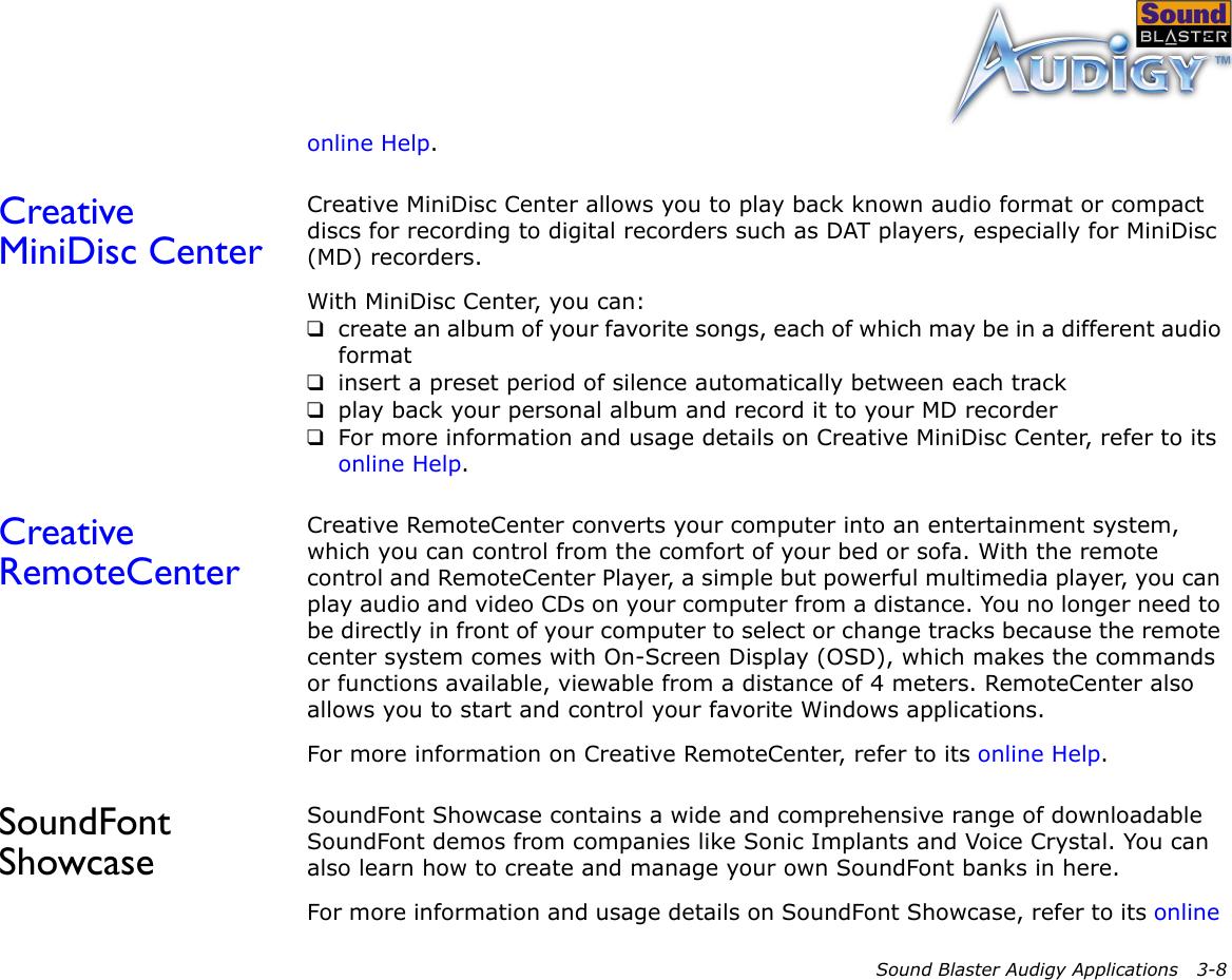 Soundfont Website