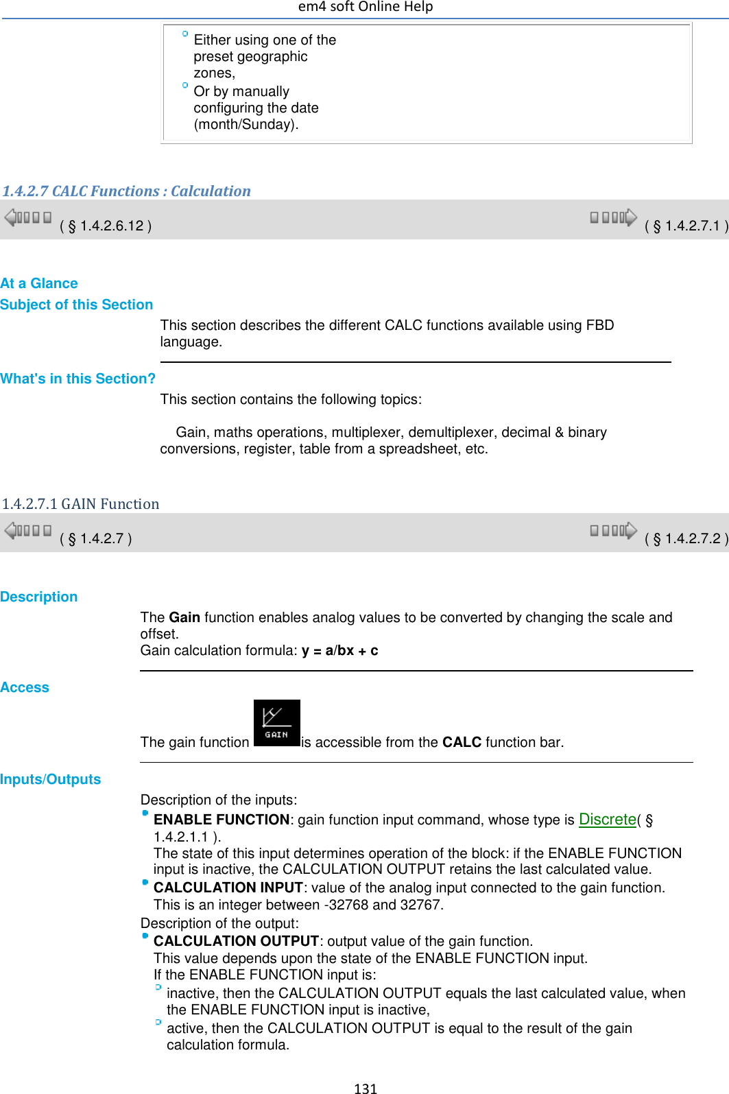 Software Em4 online help UK
