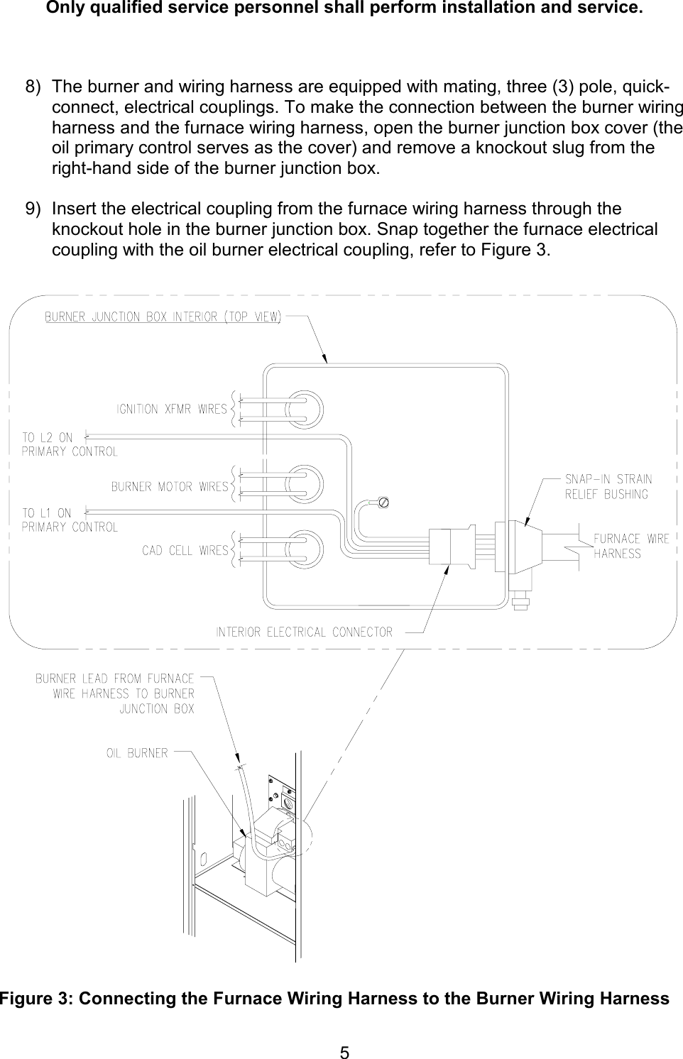 Wiring Diagram Oil Furnace