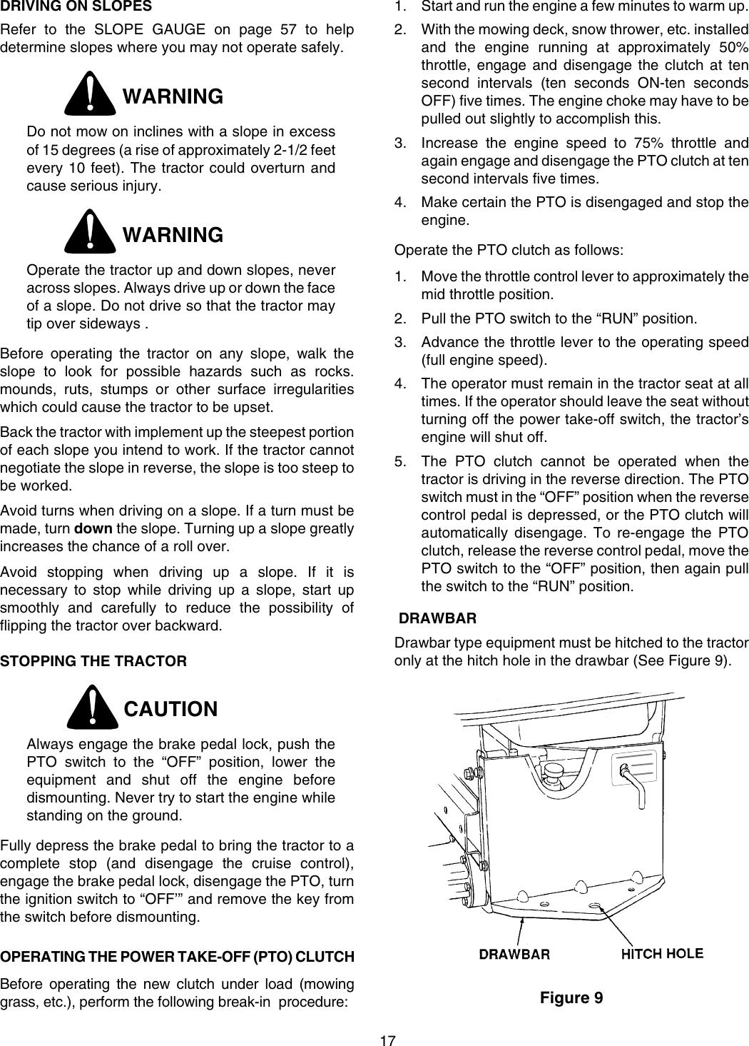 Cub Cadet 2206 Operators Manual 10288A fc