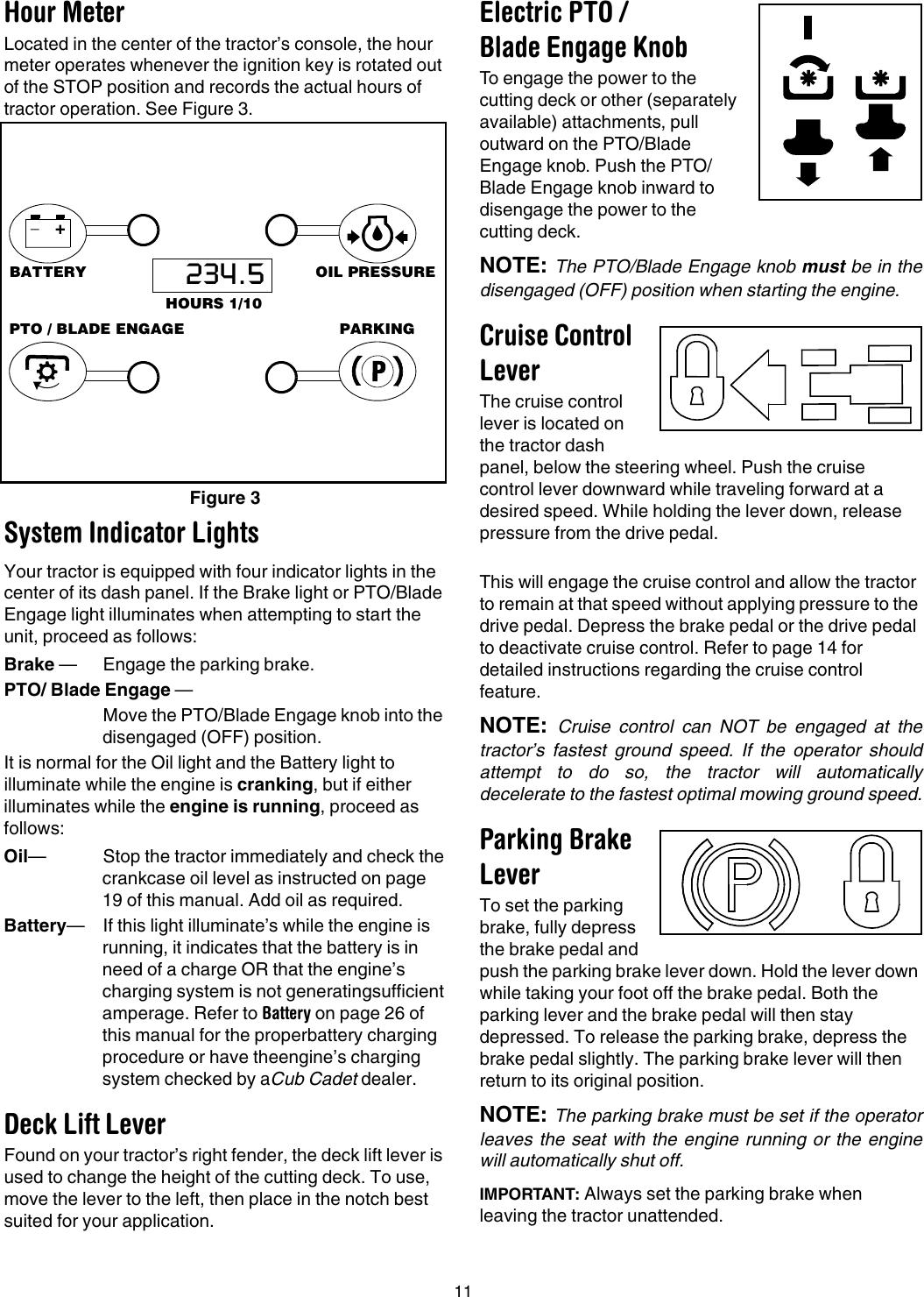 Cub Cadet Lt1045 Operators Manual 769 01514B