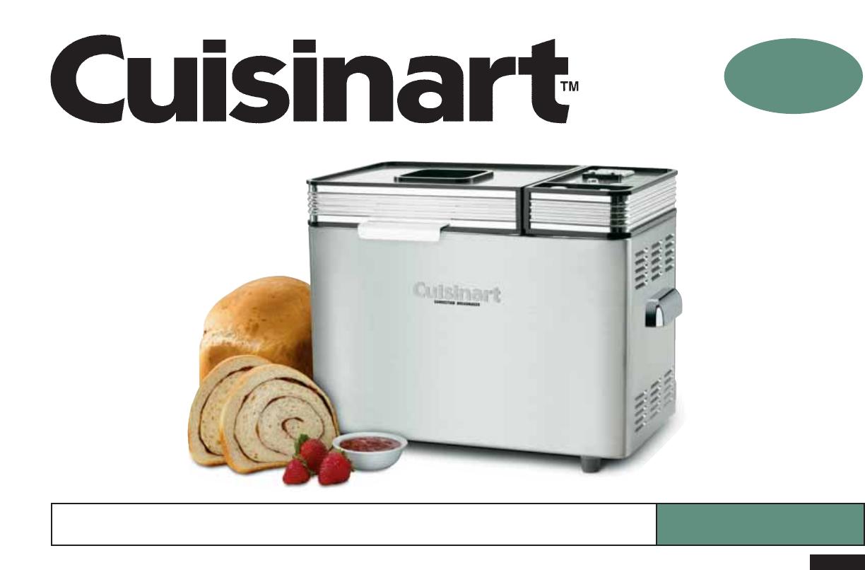 johnbasedow info) Cuisinart bread maker e01