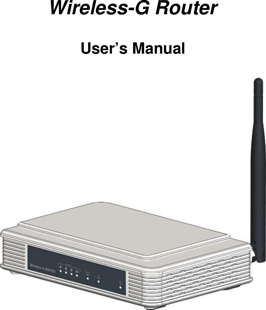 cybertan technology wg214 k wireless g router user manual rh usermanual wiki linksys wrt54g wireless-g router manual wireless-g broadband router 2.4 ghz manual
