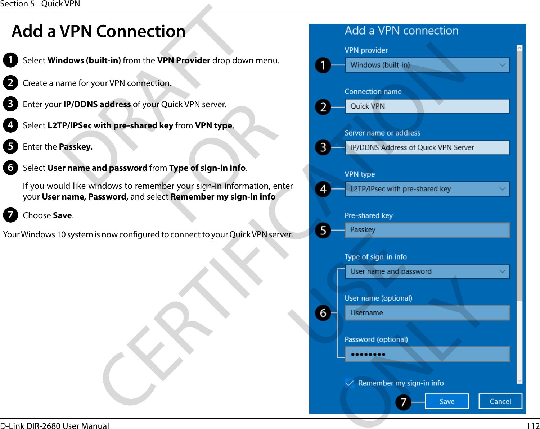 D Link IR2680A1 D-Fend AC2600 Wi-Fi Router User Manual