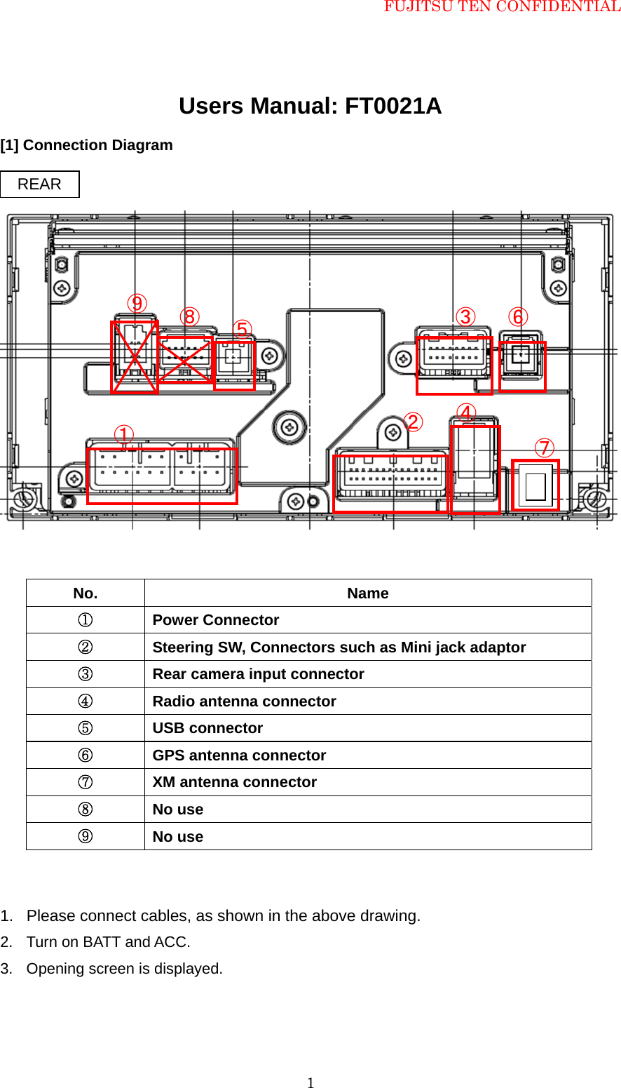Display Wiring Diagram Denso Data Diagrams Nd Alternator Ten Ft0021a Car Navigation System With Bluetooth User Manual Rh Usermanual Wiki O2 Sensor