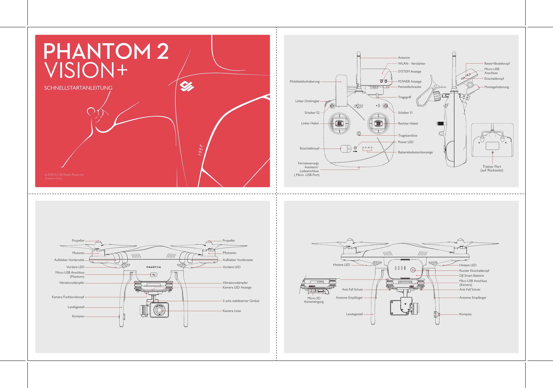 DJI Phantom 2 Vision+ – Specs, FAQ, Tutorials And S YC BZ S00064 P2V