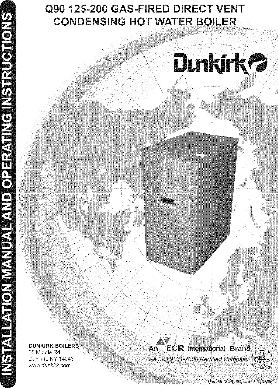 Dunkirk Boiler Manual L0611510 Wiring Diagram